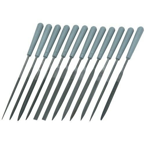 Luthiers Tools: 12 pc. Needle Files/Electronic Repair Kit