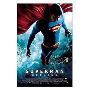 Superman Poster Signed