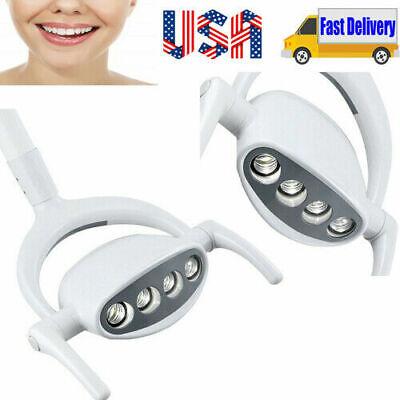 Portable Dental 4 Led Lamp Oral Cold Light Lamp For Dental Chair Unit 15w Usa