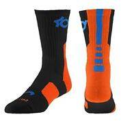 Orange Blue Nike Elite Socks