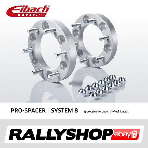 Eibach PRO-SPACERS Wheel Spacers 6x139,7 mm 25/50 mm Ford Ranger (2AW) 4WD