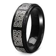 Tungsten Carbide Celtic Ring