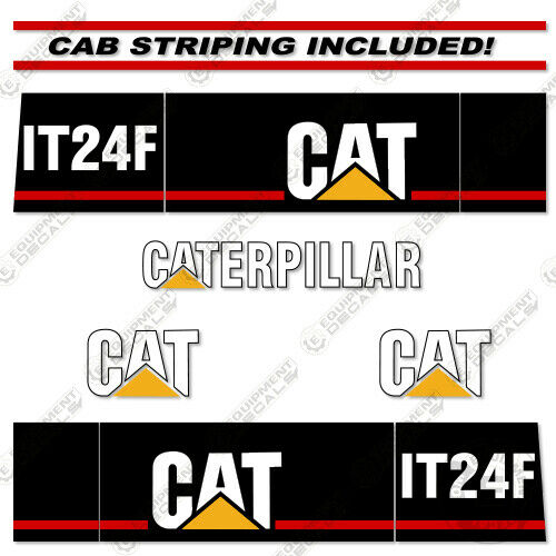 Caterpillar IT24F Integrated Toool Carrier Decal Kit Equipment Decals (IT 24 F)