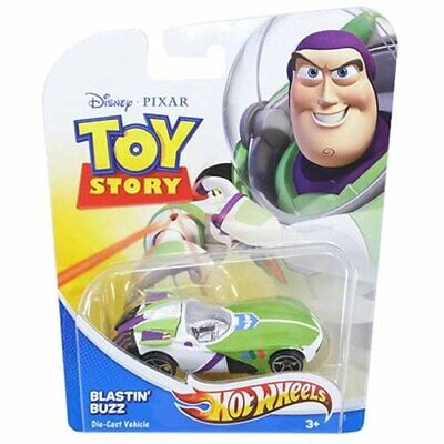 Disney Pixar Toy Story Hot Wheels Blastin' Buzz (Brand New in Box)