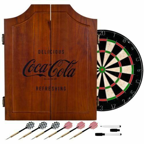 Coca Cola Wooden Dart Board