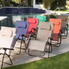 Steel Patio Zero Gravity Chairs