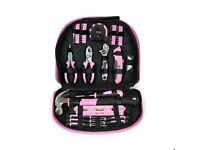 *AS NEW* WORKPRO 103-Piece Pink Tool Kit Set Just £15