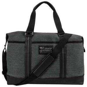 Buffalo BUF122702CA David Bitton Robinson Duffle Bag in Denim Black  (New Other)