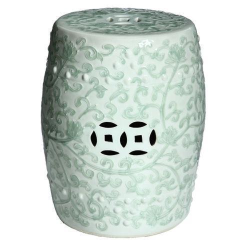 Porcelain Garden Seat Ebay