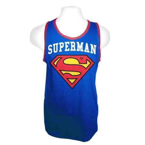 dc6961512d068 Superman Tank  Clothing