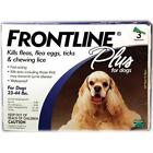 Frontline Plus for Dogs 23-44 3 Month
