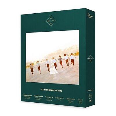 BTS - BTS MEMORIES OF 2016 DVD 4DISC+188p Special Photobook+Photocard KPOP K-POP