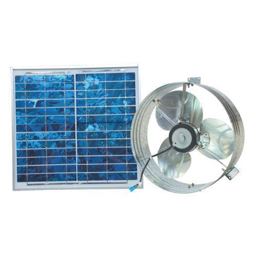 Solar Gable Vent Ebay
