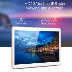 """10.1"""" Android 4.4 Tablet PCs Dual Sim 16 GB Memory 2 GB RAM Dual Cam 3G"""
