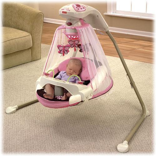 Fisher Price Pink Swing Ebay
