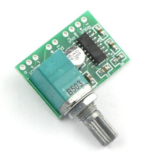 PAM8403 5V Power Audio Amplifier Board 2 Channel 3W W Volume Control USB Power C