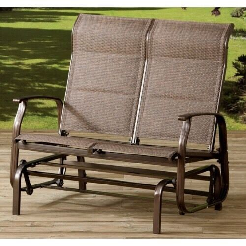 Garden rocker glider double chair outdoor garden furniture for Outdoor furniture gumtree