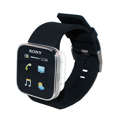 Sony MN2SW Bluetooth SmartWatch For Android SmartPhones Cell Phones 1256227 New