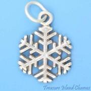 Sterling Silver Snowflake Charm