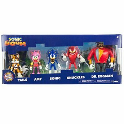 Action Figure Multi Pack - Sonic The Hedgehog - Action Figure Multi Pack - Sonic Boom 5 Figure Set
