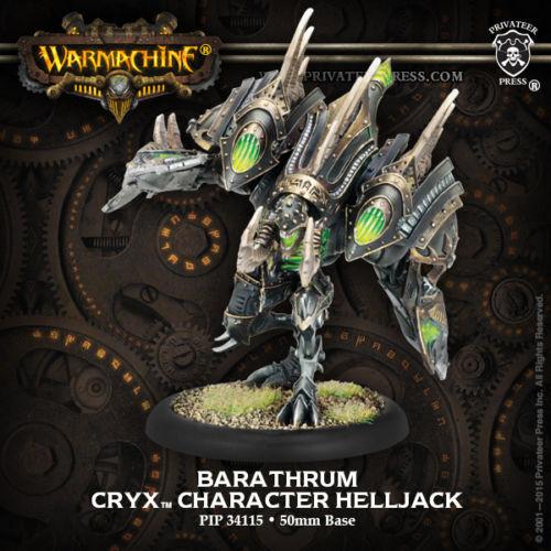Warmachine Cryx Barathrum PIP34115 Privateer Press