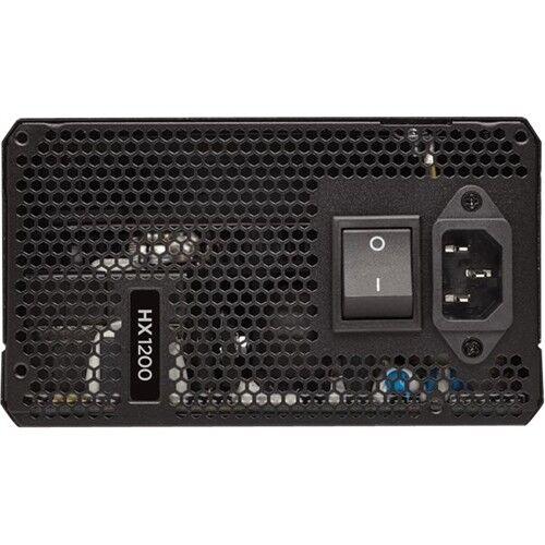 CORSAIR HX Series 1200W ATX12V 2.4/EPS12V 2.92 Modular Power Supply Black CP-9020140-NA