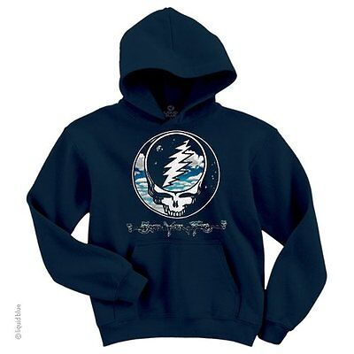 Grateful Dead Hoodie (GRATEFUL DEAD-STEAL YOUR SKY AND SPACE-PULLOVER HOODIE M-L-XL-XXL)