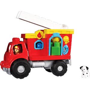 MEGA BLOKS - Play 'n Go Fire Truck & Blocks