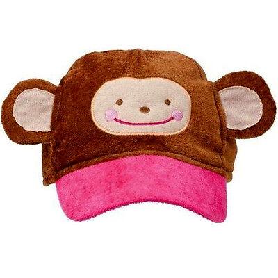 BASEBALL CAP ~ Birthday Party Supplies Favors Jungle Safari (Monkey Love Party Favors)