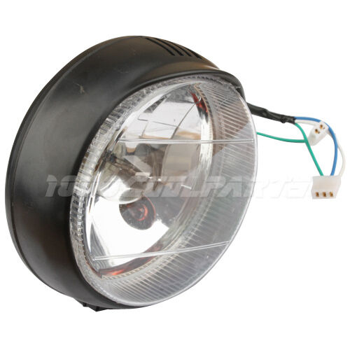 Universal Headlight for 50-250cc ATVs, Go Karts