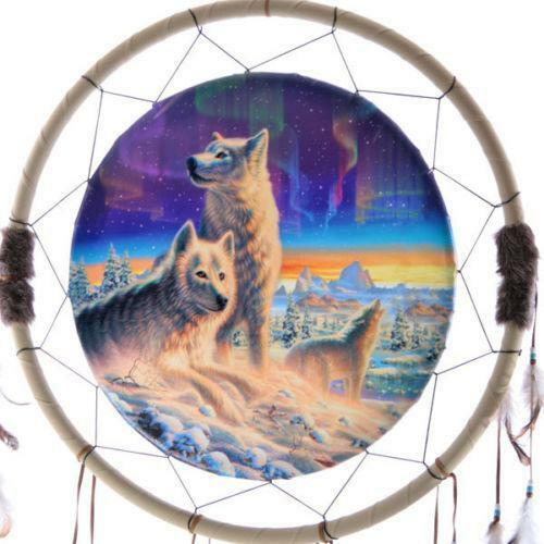 Pictures Of Dream Catchers: Wolf Dream Catcher: Collectibles