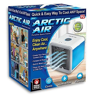 Ontel AA-MC4 Arctic Air Personal Space Cooler, Portable Air Conditioner | The Qu