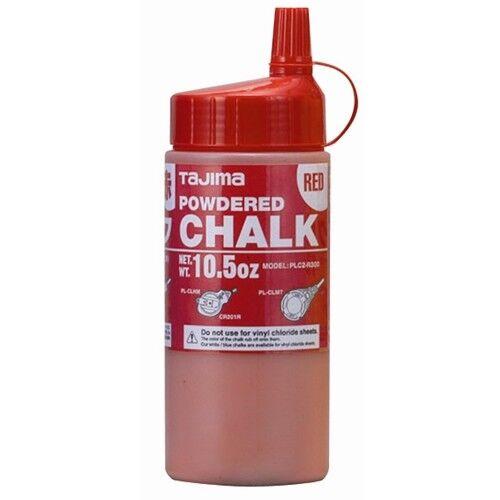 Tajima PLC2-R300 CHALK-RITE Ultra-Fine Chalk, red, with easy-fill nozzle, 10.5oz