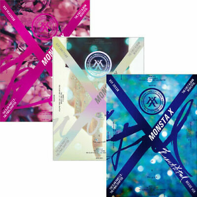 MONSTA X [BEAUTIFUL] 1st Album BESIDE CD+30p Photo+Lyrics Book+Paper+2p Card+etc