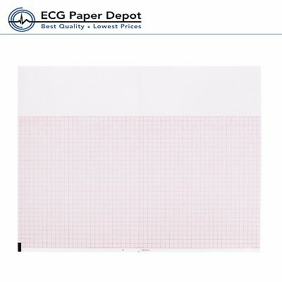 Ecg Ekg Thermal Paper 8.50 X 5.5 Burdick 7984 Quest Eclipse Machines 32 Pack