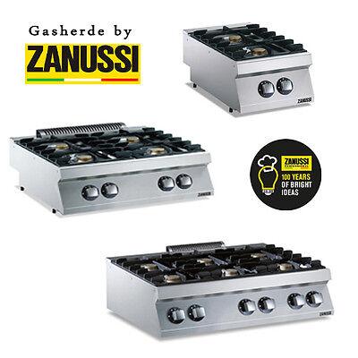 ZANUSSI Gasherd Gaskochfeld / Tischgerät / 2 - 4 oder 6 Flammen / Gastro / Neu ()