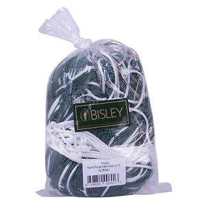 Bisley (10 Pack) 1m 4z Nylon Purse Nets for Ferreting Ferret Vermin Rabbits Pest