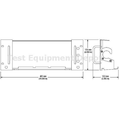 Tektronix RM3000 TDS3000C  Oscilloscopes Rackmount Kit
