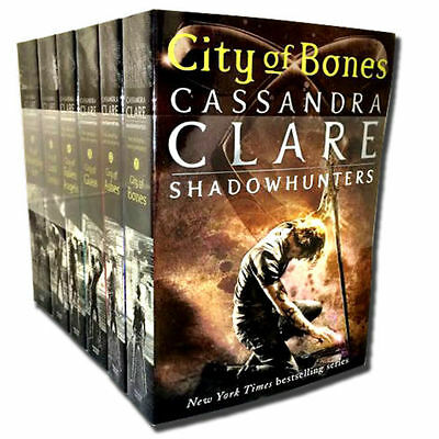 Cassandra Clare Set 6 Books Collection Mortal Instruments Series Heavenly Fire
