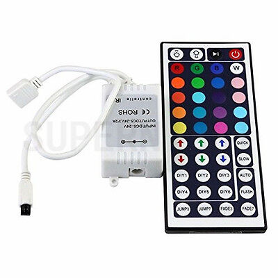 44Keys IR Remote Controller for 12V 5050 3528 SMD RGB Flexible LED Light Strip