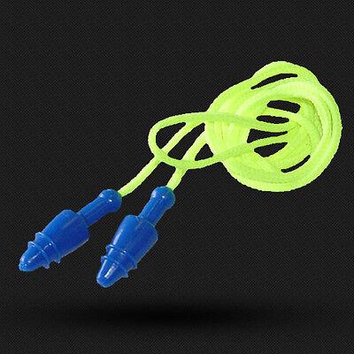 Radians Neon Jelli Ear Plugs Corded Snug Plug With Case Jp3250id