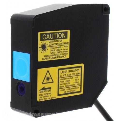 Optex Cd4-30 Laser Measurement Sensor 25 To 35mm Range Class Ii  Mfgd