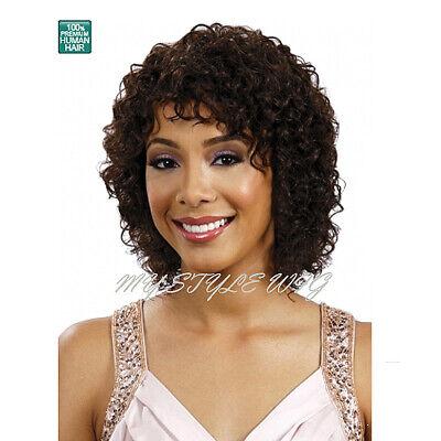 BOBBI BOSS BOSS WIG Human Hair Wig - MH1228 - Wilma Wig