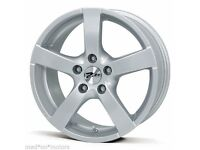 Set of new unused Zito 16 inch Alloy Wheels (x4) for Audi, VW, Seat and Skoda. With centre caps