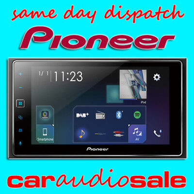 """PIONEER SPH-DA130DAB DOUBLE DIN 6.2"""" TOUCH SCREEN CAR PLAY DAB USB BLUETOOTH for sale  Shipping to Ireland"""