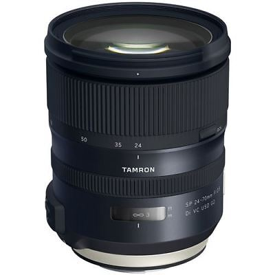Tamron SP 24-70mm f/2.8 Di VC USD G2 Lens for Canon