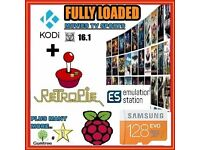 Raspberry Pi 3 Cards, Retro Games, Kodi, NOOBS Operating systems and more - Bundles Available Here