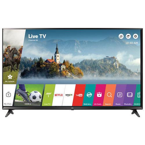 LG 43 Inch 4K Ultra HD Smart TV 43UJ6300 UHD TV + FACTORY SEALED
