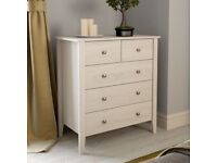 White Oak 2 over 3 drawer chest -Sydney brand by VictoriaPlum RRP £275