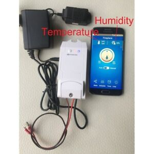 Smart  Gas fireplace thermostat & Humidity controller /Smart cus